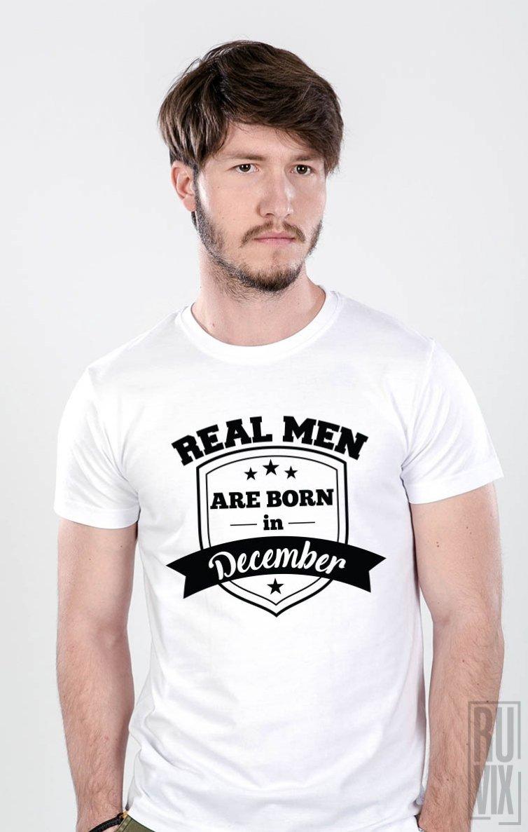Tricou Real Men December
