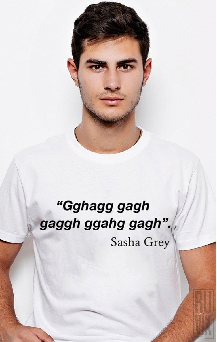 Tricou Sasha Grey Gagh