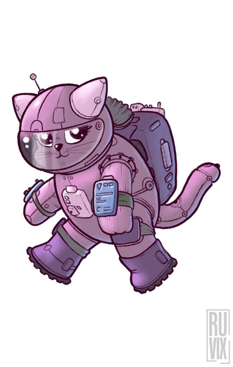 Tricou SpaceCat