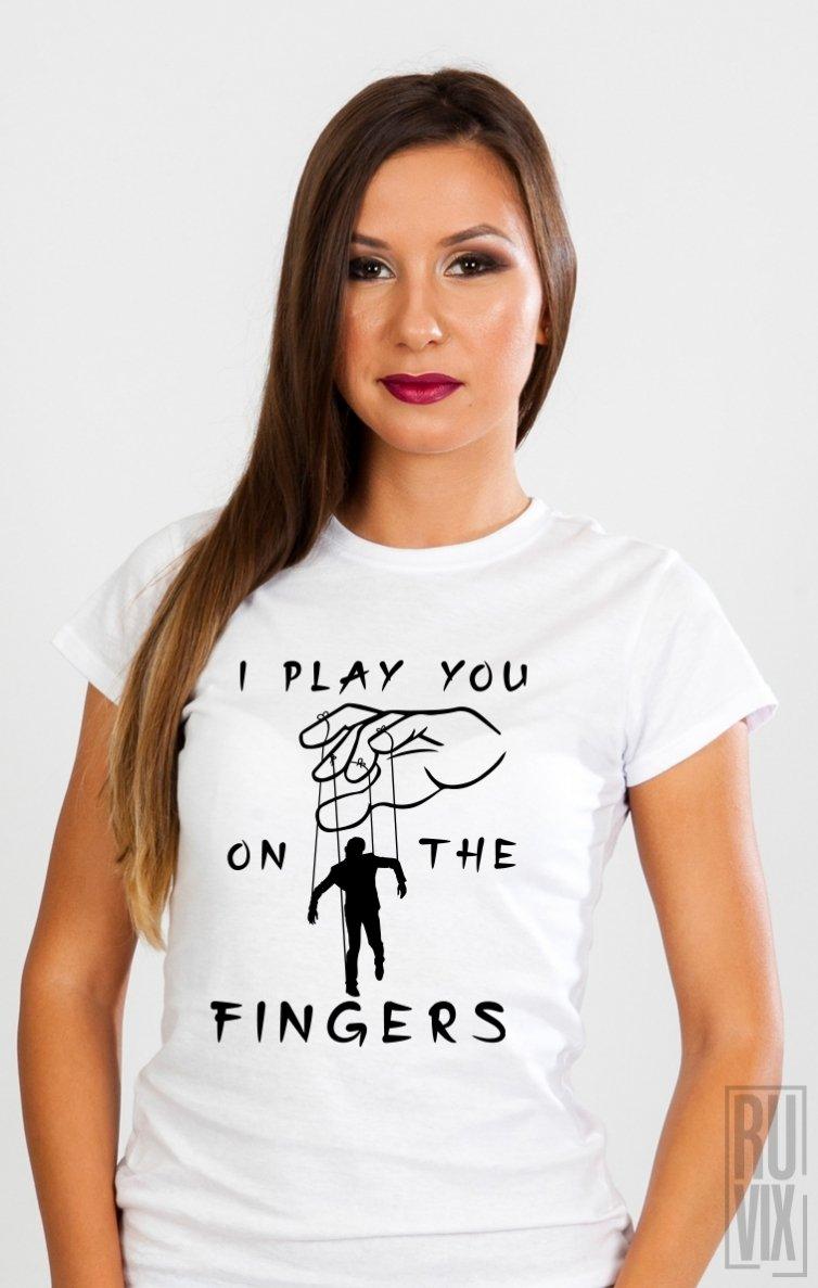 Tricou Te Joc pe Degete