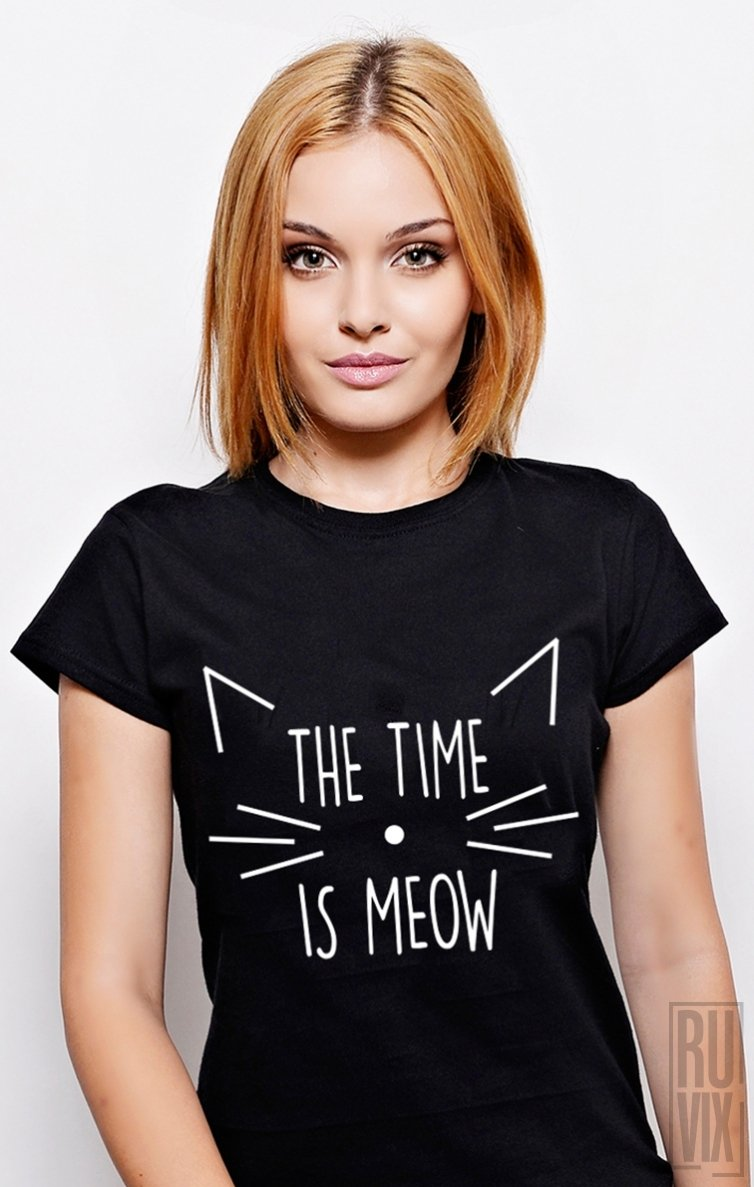 Tricou Time is MEOW
