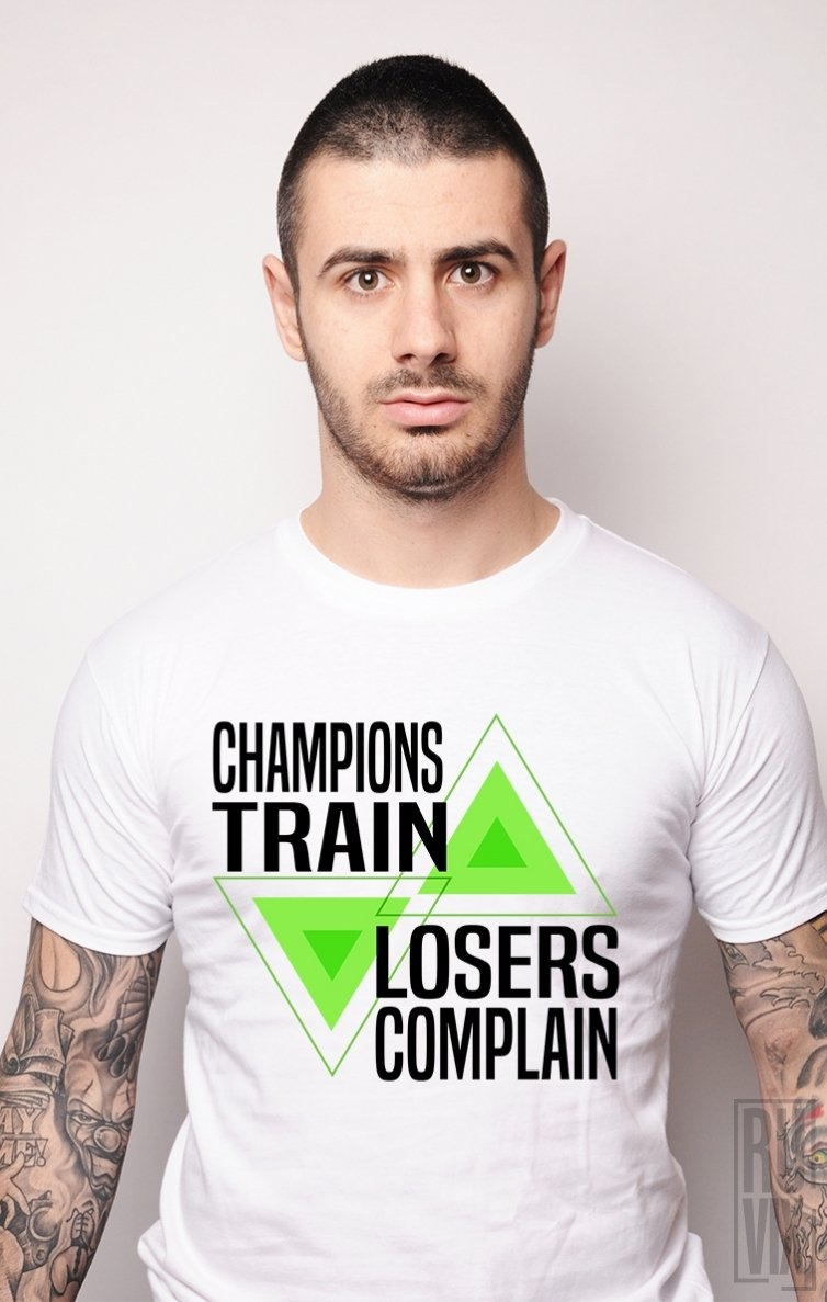 Tricou Train Champions