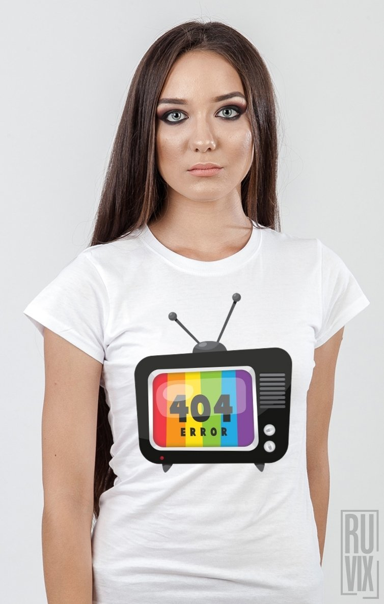 Tricou TV Error