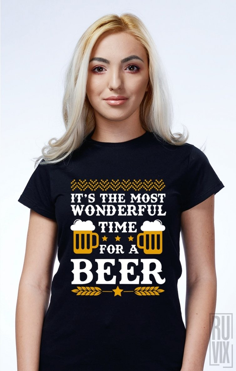 Tricou Wonderful Time for a Beer