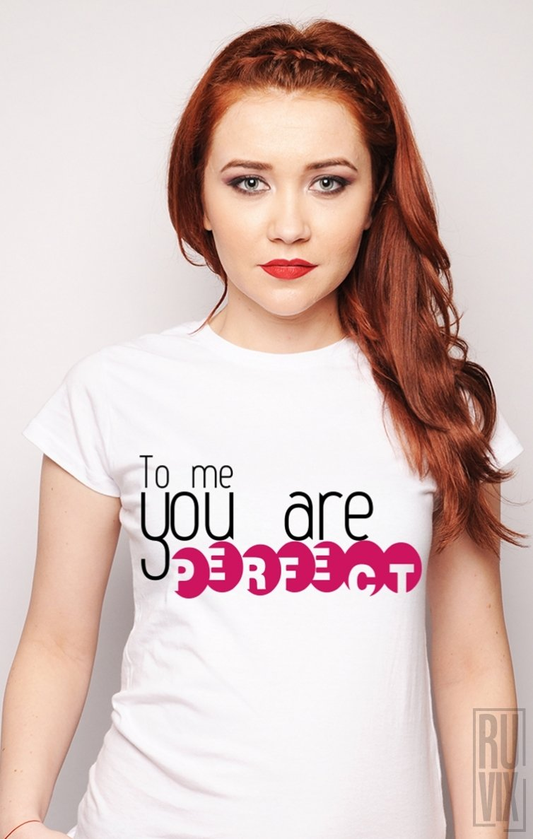 PROMOȚIE Tricou You Are Perfect