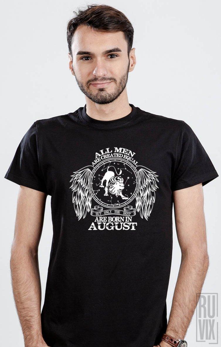 Tricou Leu - Zodiac August Bărbați