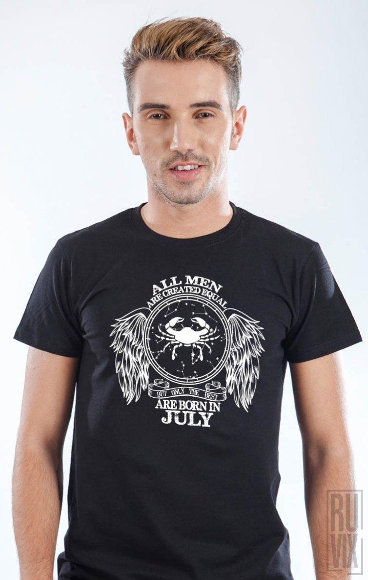 Tricou Rac - Zodiac Iulie Bărbați
