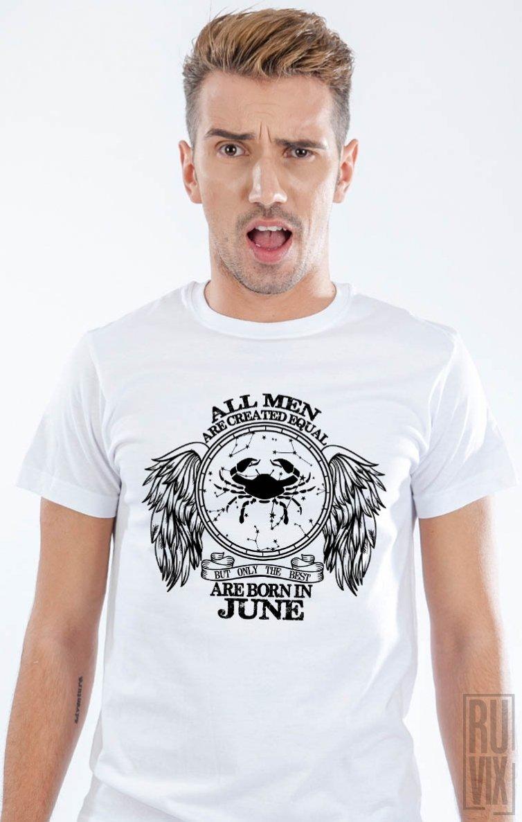 Tricou Rac - Zodiac Iunie Bărbați