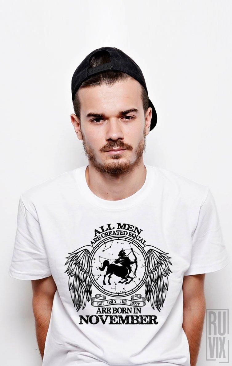 Tricou Săgetător - Zodiac Noiembrie Bărbați
