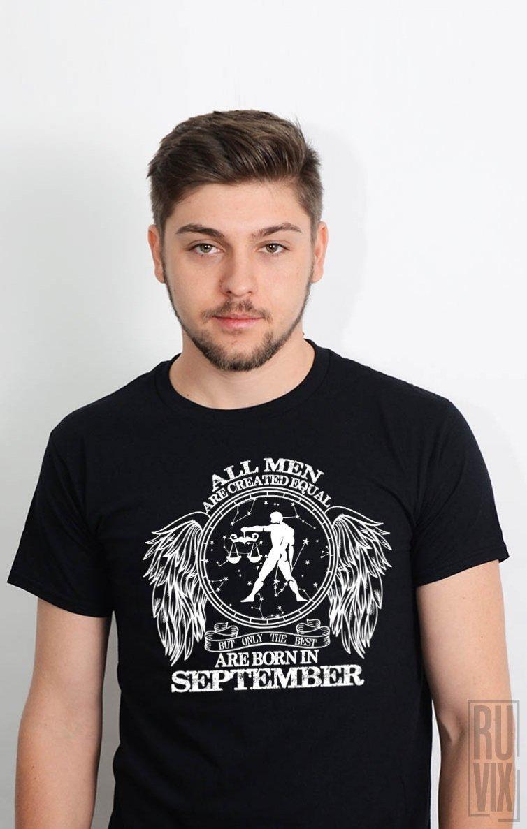 Tricou Balanță - Zodiac Septembrie Bărbați