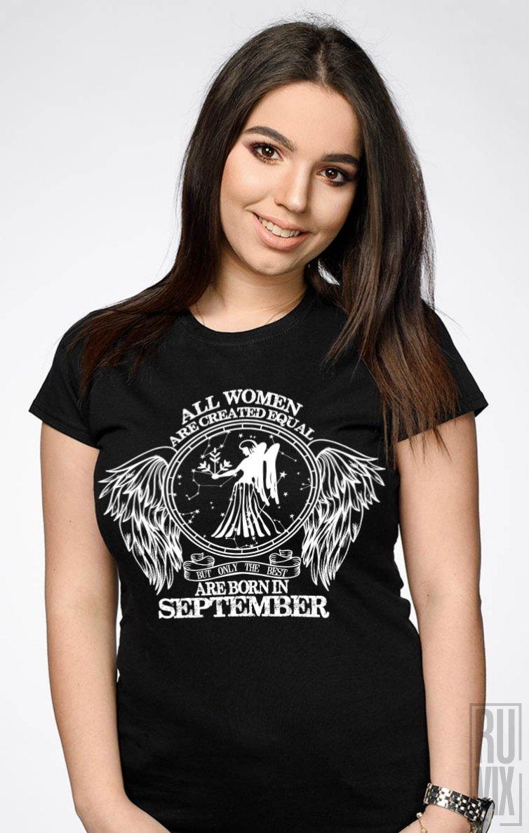Tricou Fecioară - Zodiac Septembrie Damă
