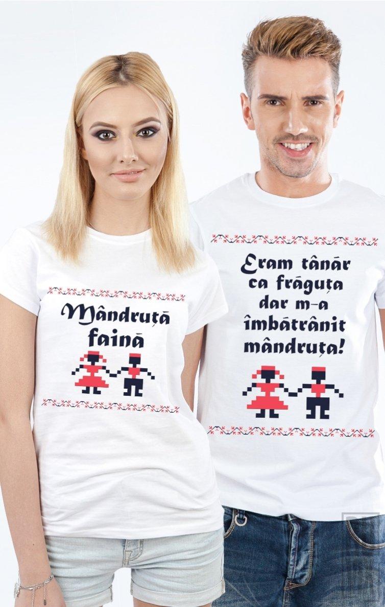 Tricouri de Cuplu Mândru și Mândruță