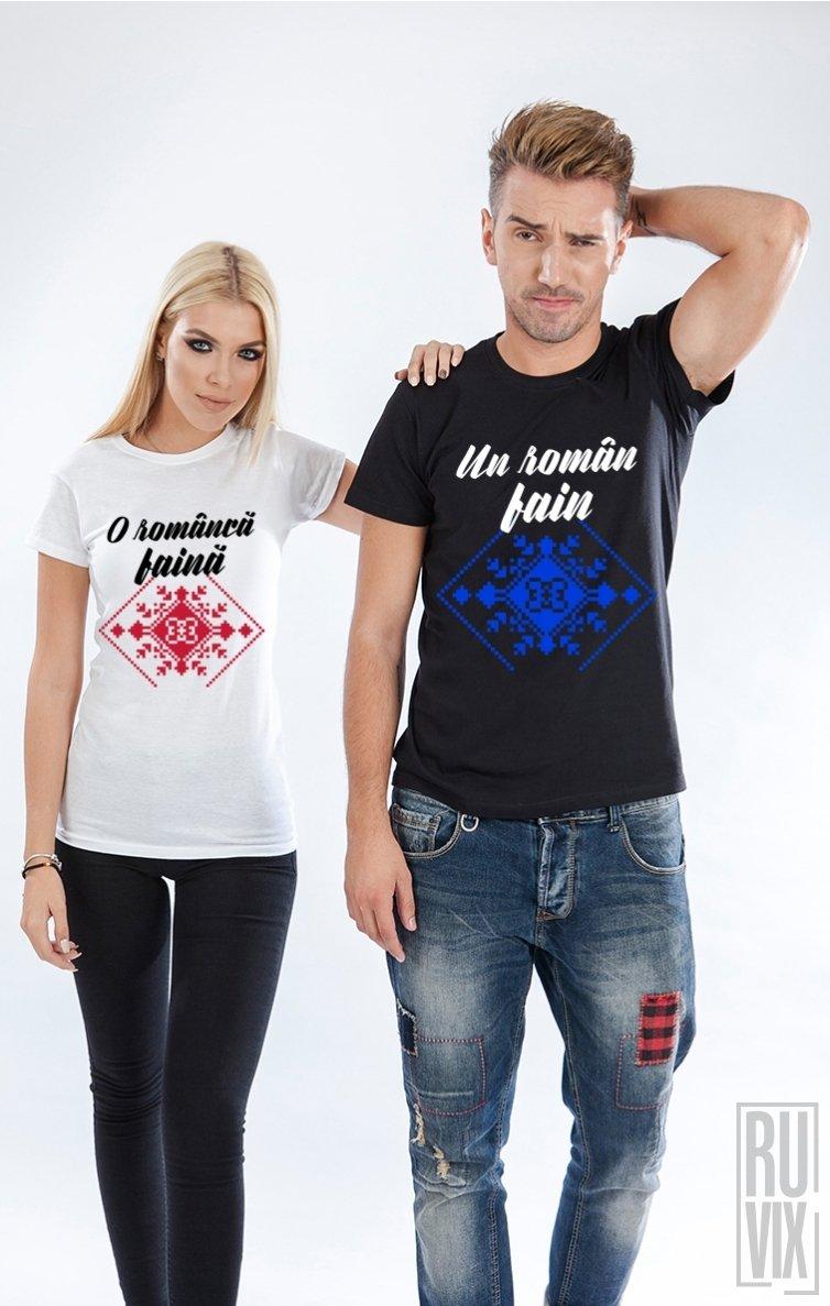 Tricouri de Cuplu Români Faini