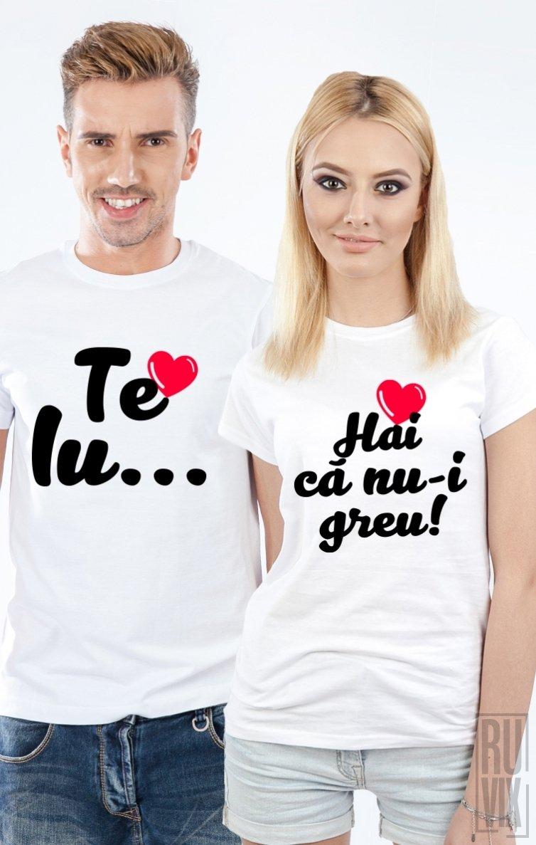 Tricouri de Cuplu Te iubesc
