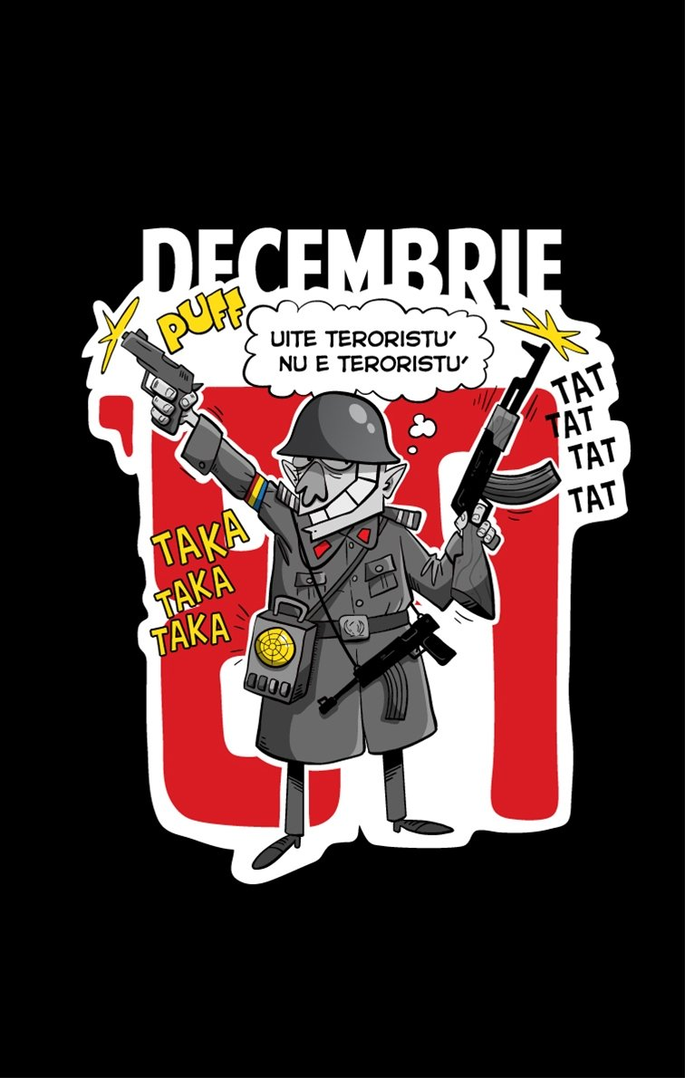 Tricou '89 - Uite teroristu'