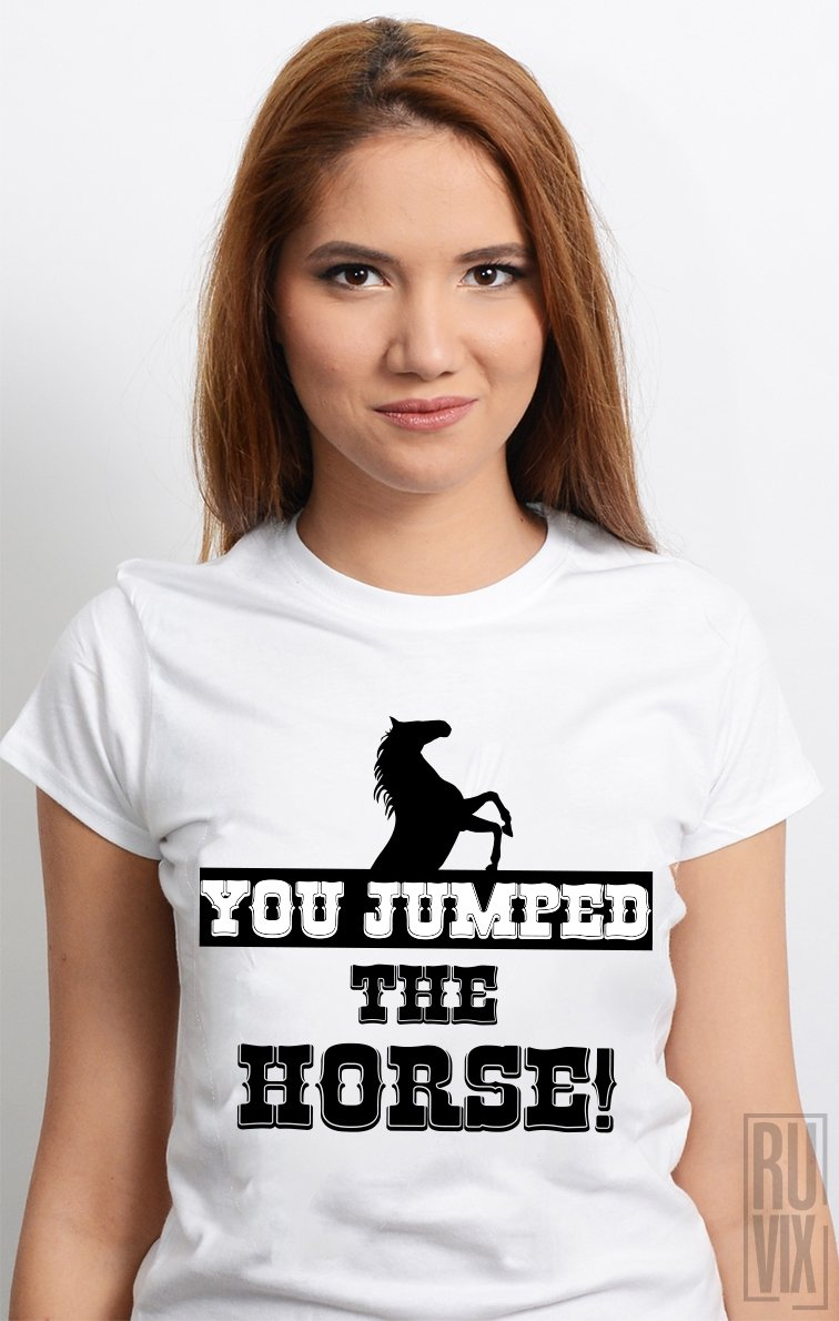 Tricou Ai Sărit Calul