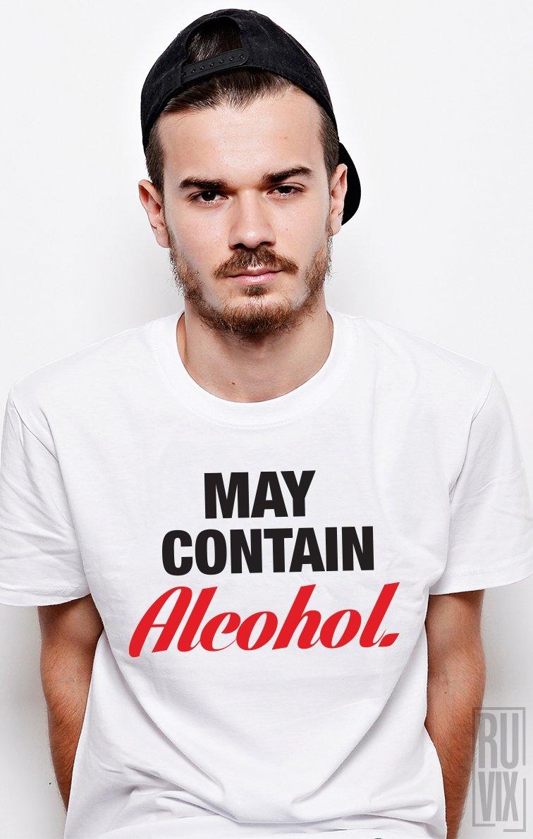 Tricou Alcohol