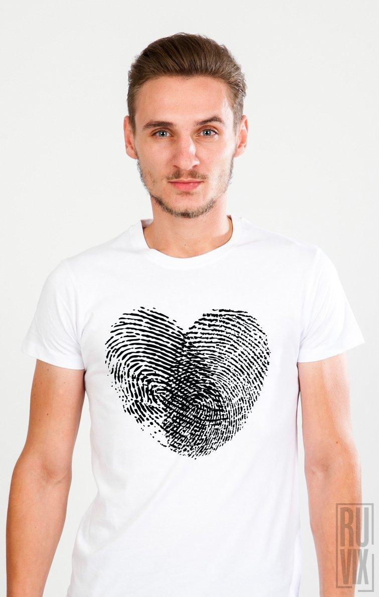 Tricou Amprentă Inimă