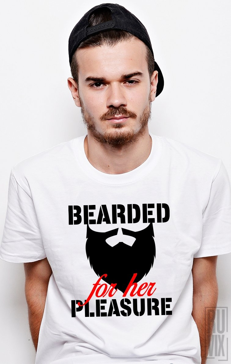 Tricou Bearded For Her