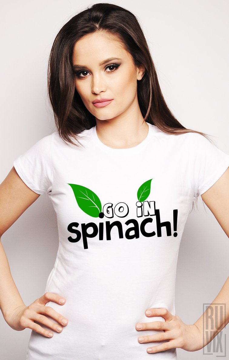 Tricou Dă-te-n Spanac