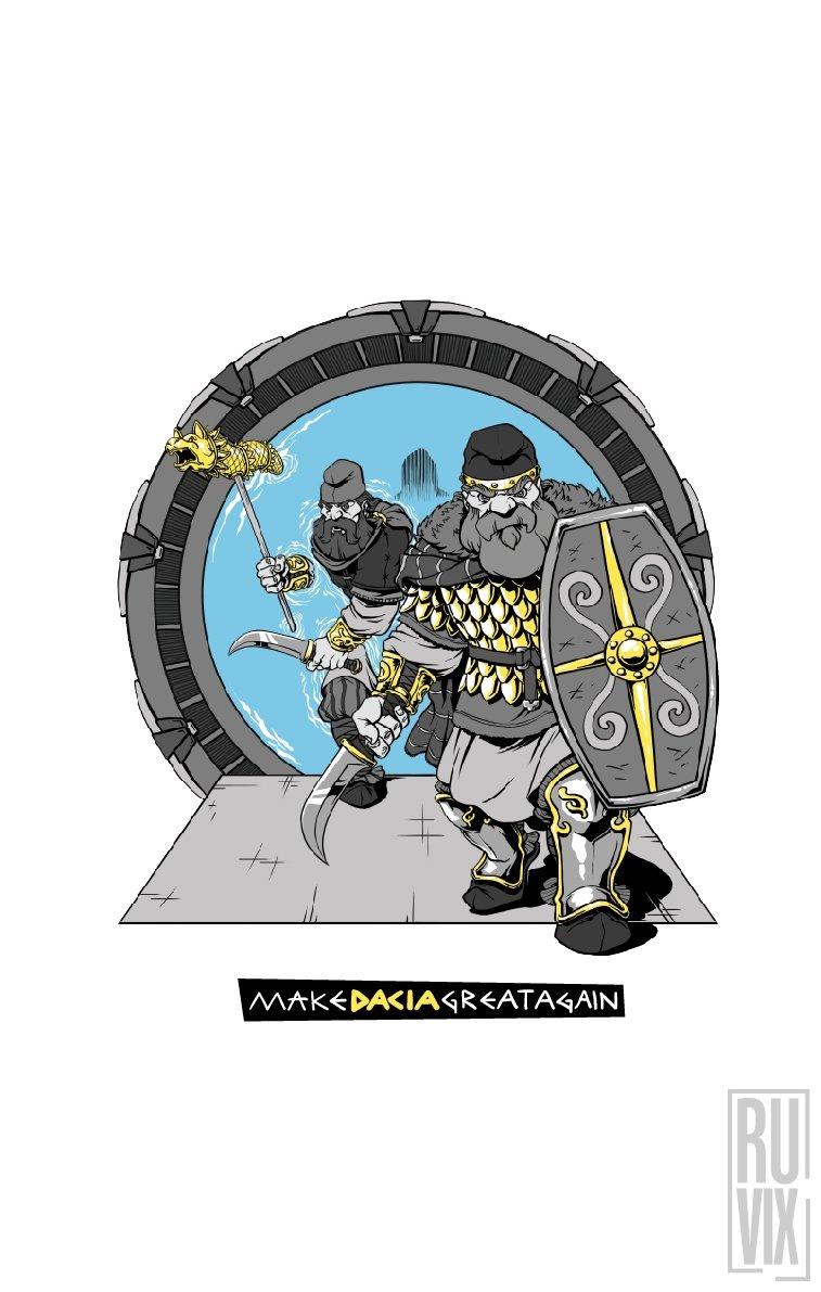 Tricou Dac Gate