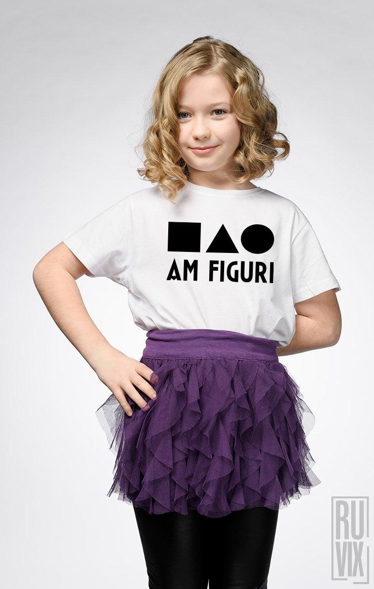 Tricou de Copii AM FIGURI