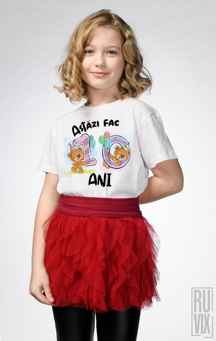 Tricou de Copii ASTĂZI FAC 10 ANI