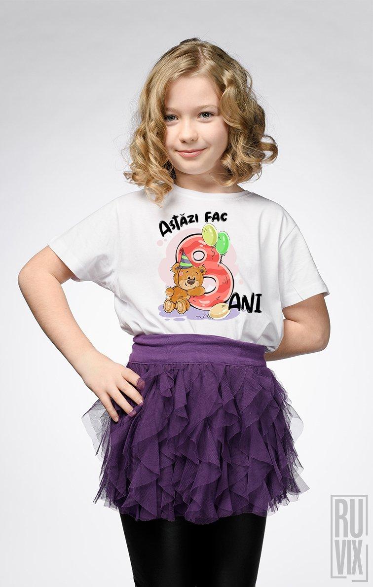 Tricou de Copii ASTĂZI FAC 8 ANI