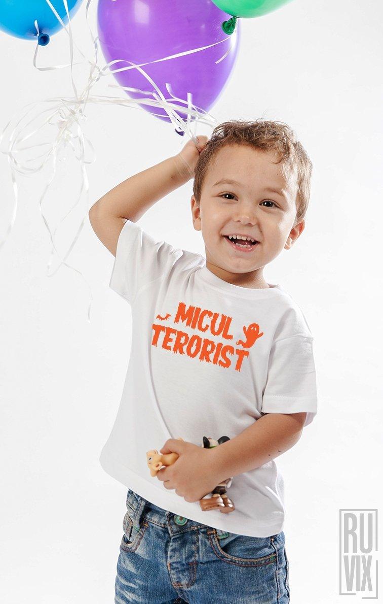 Tricou de Copii MICUL TERORIST