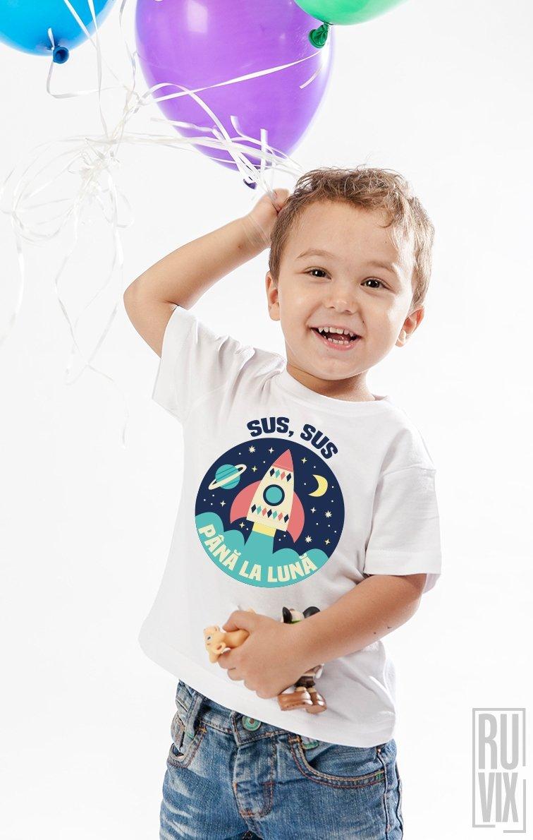 Tricou de Copii PANA LA LUNA