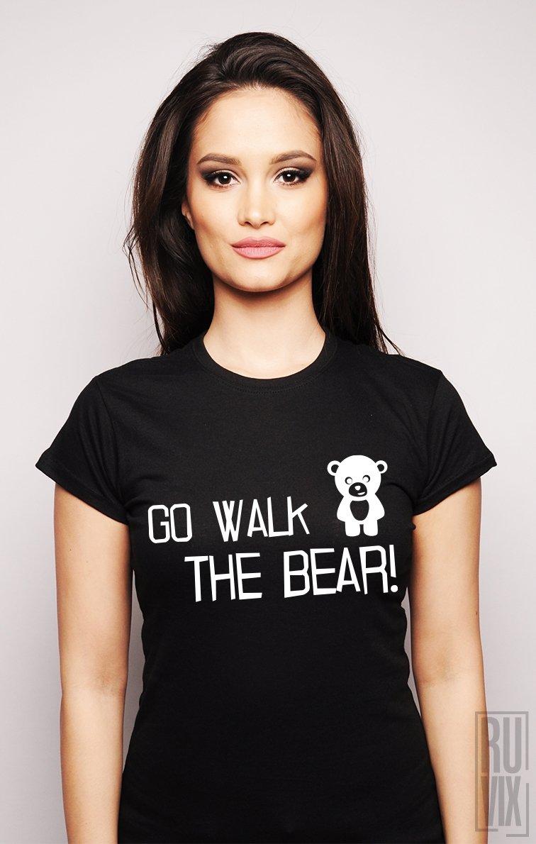 Tricou Du-te și Plimbă Ursul