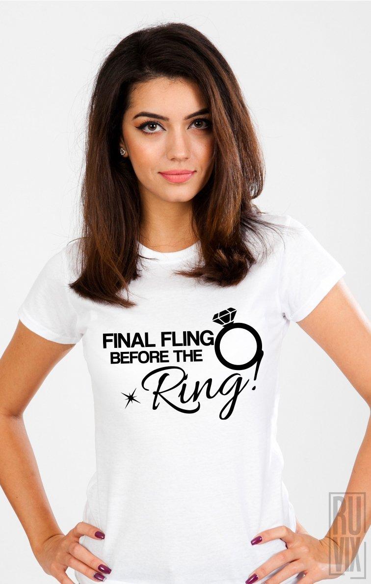 Tricou Final Fling