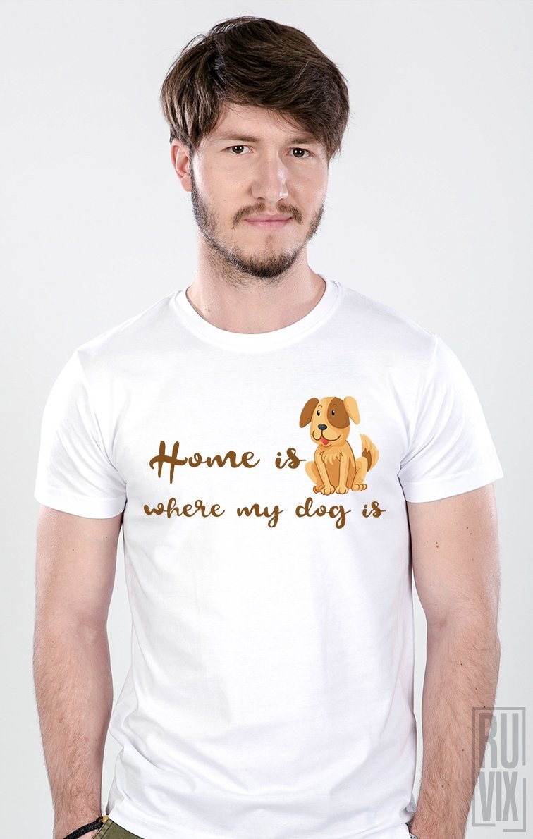 Tricou Home Dog