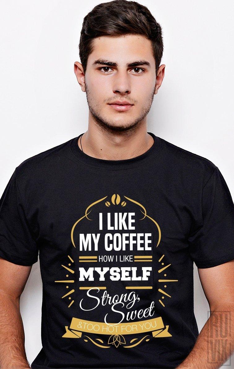 Tricou Hot Coffee