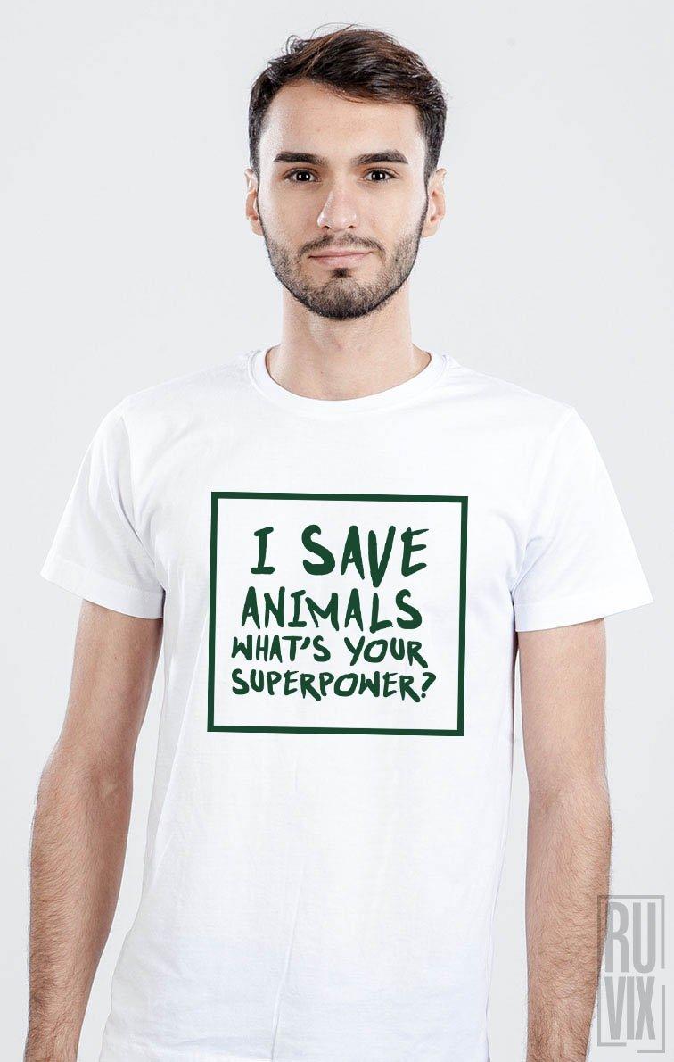 Tricou I Save Animals