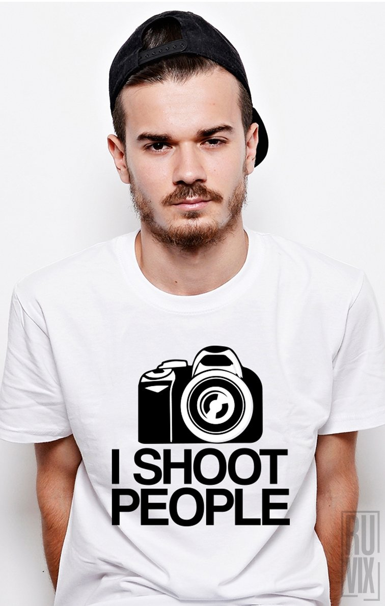 Tricou I Shoot People