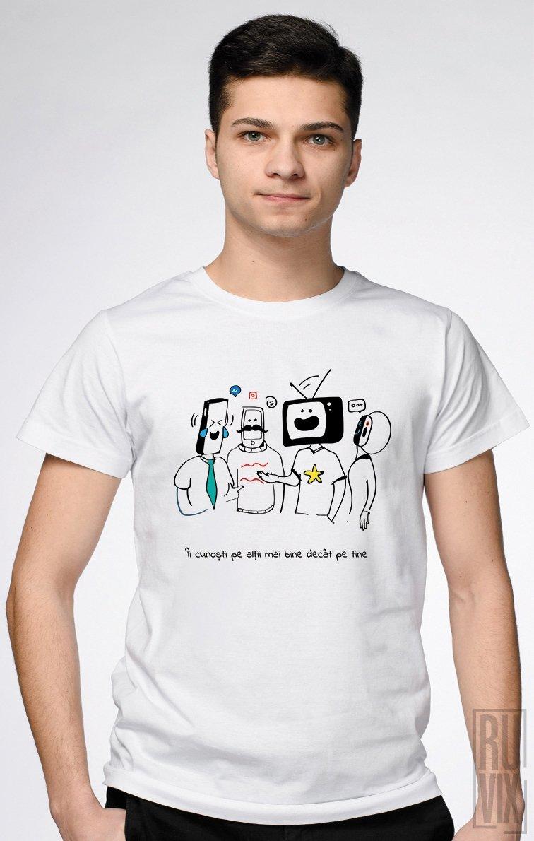 Tricou Îi cunoști pe alții
