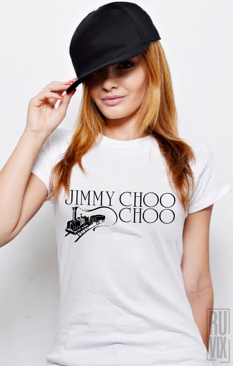 Tricou Jimmy Choo Choo