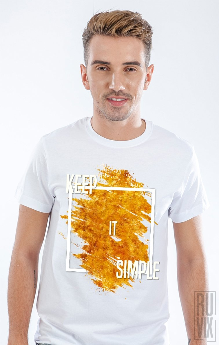 Tricou Keep It Simple