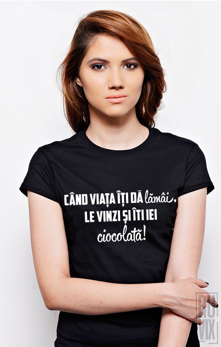 Tricou Lamâi și Ciocolată