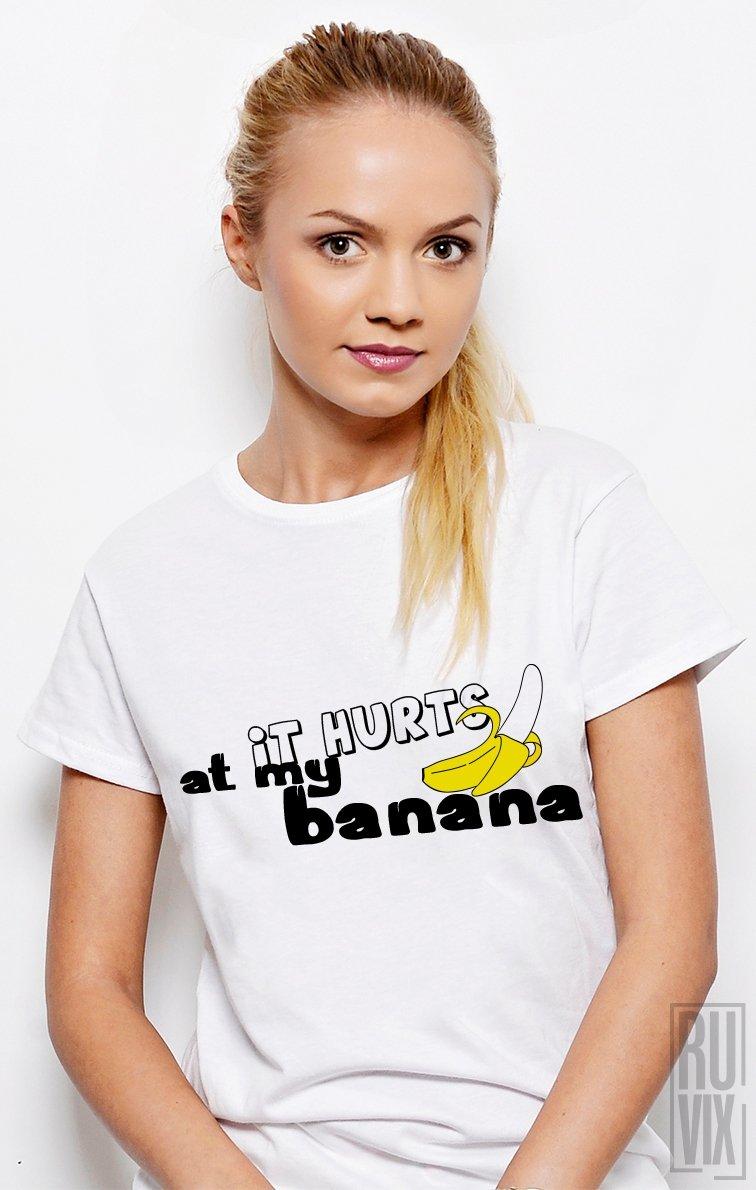 Tricou Mă Doare La Banană