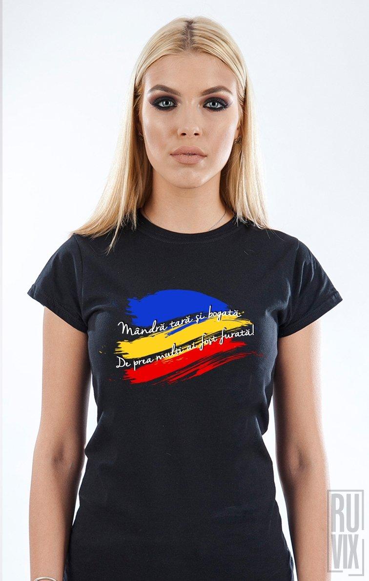 Tricou Mândră Țară furată