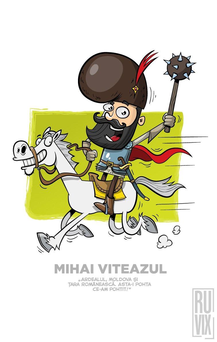 Tricou Mihai Viteazul