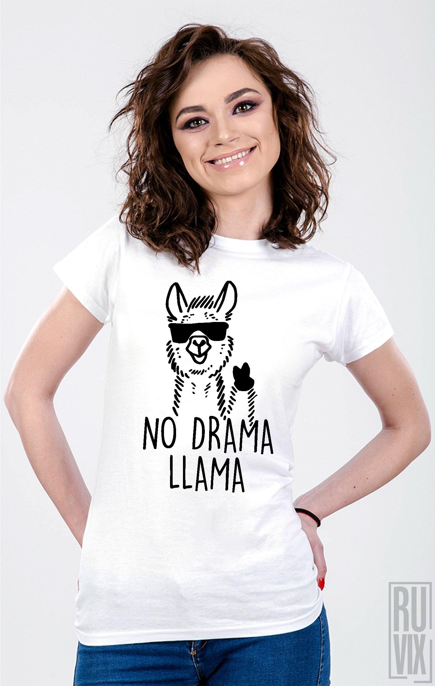 Tricou No Drama Llama