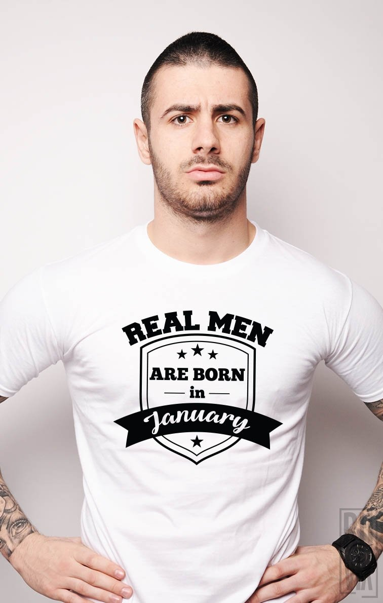 Tricou Real Men January