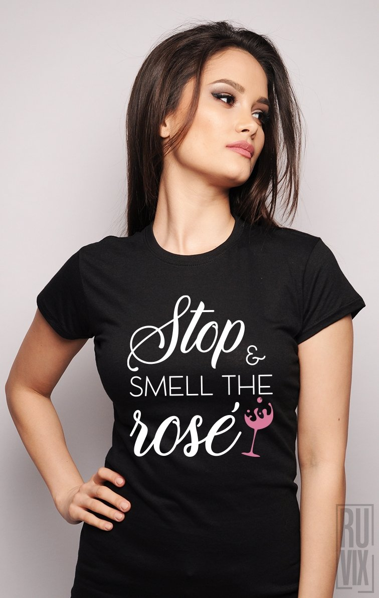Tricou Smell The Rose