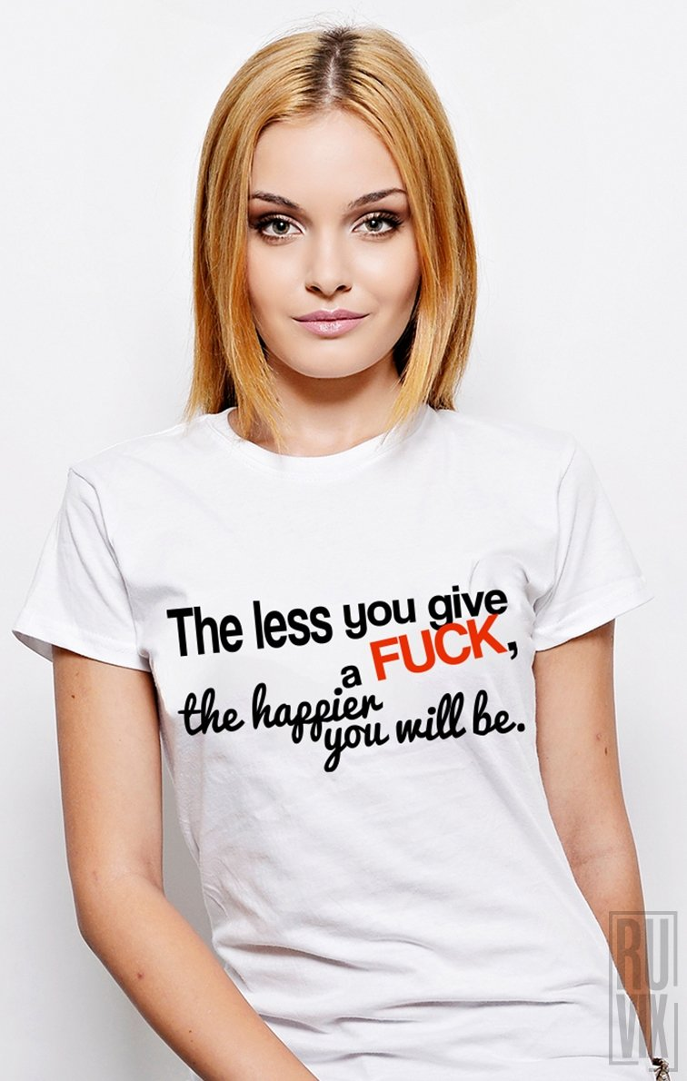 Tricou The Less You Give