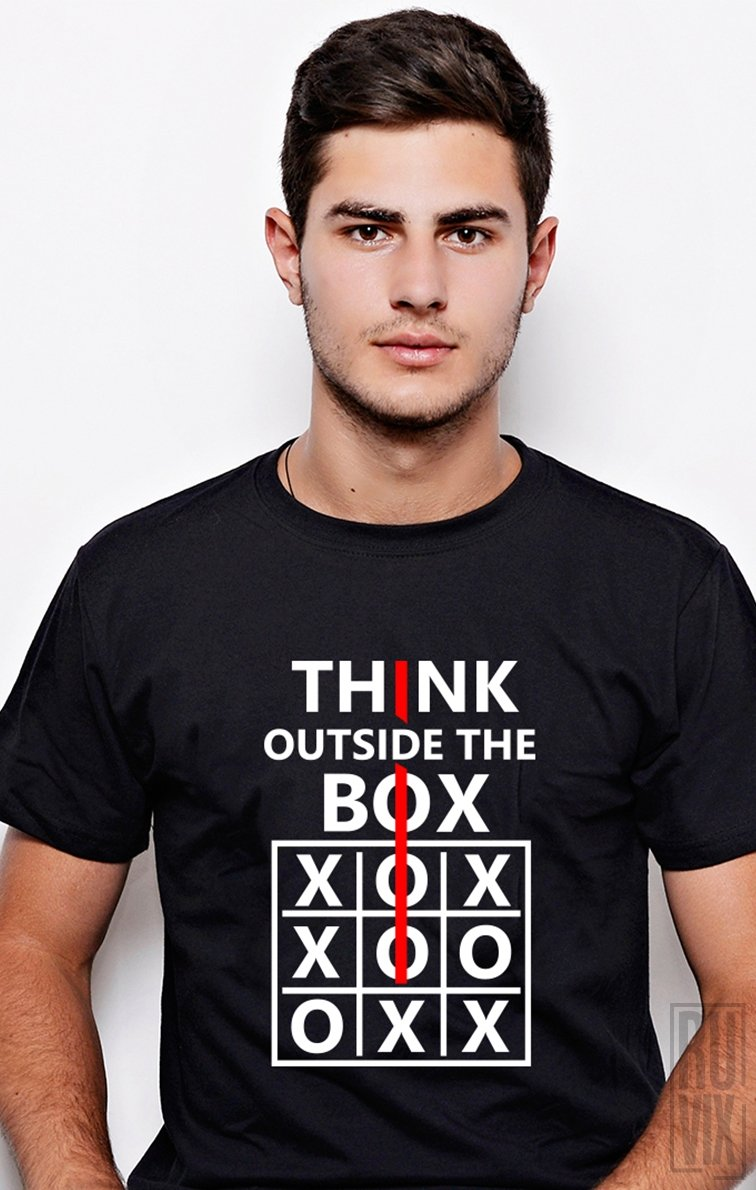 Tricou Think Outside The Box