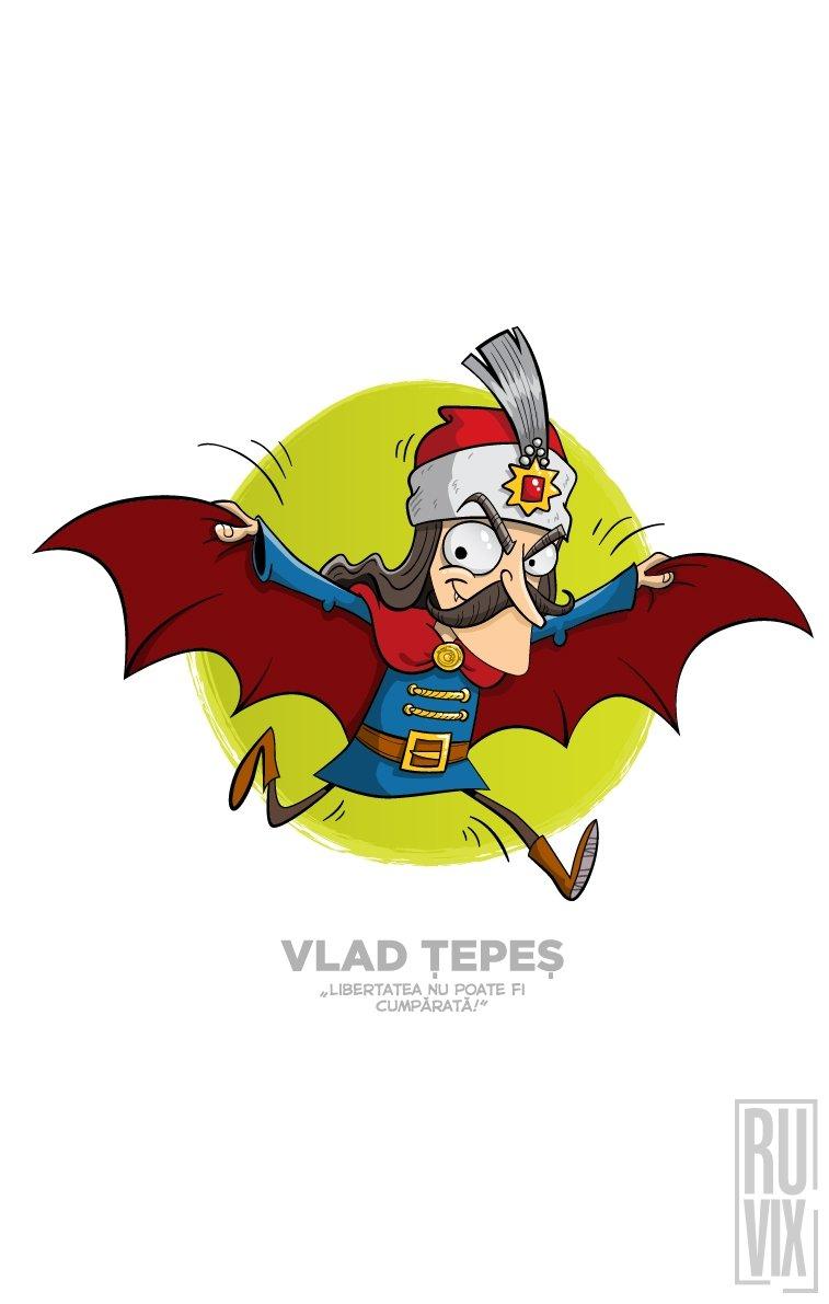 Tricou Vlad Tepes