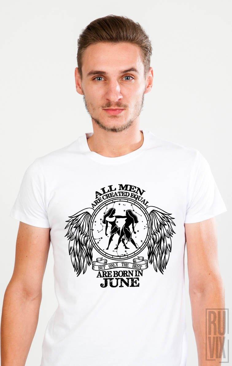 Tricou Gemeni - Zodiac Iunie Bărbați